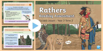 Year 3 Reading Assessment Poetry Term 2 Guided Lesson PowerPoint - Year 3, term 2, Reading Assessment Guided Lesson PowerPoints, KS2, reading, read, assessment, guided