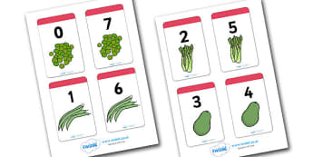 Number Bonds to 7 Matching Cards (Food) - Number Bonds, Matching Cards, Food Cards, Number Bonds to 7