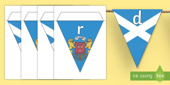 Aberdeen Display Bunting - CfE Social Media Requests, Aberdeen, Scotland, Scottish cities, bunting, display,Scottish