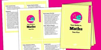 2014 Curriculum Cards Year 5 Maths - new curriculum, planning