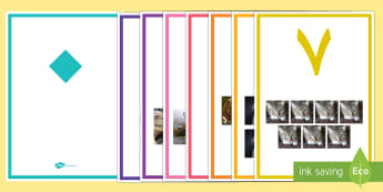 ملصقات عرض الأرقام مع الحيوانات من 0 إلى 20  - أرقام، أعداد، عد، حساب، رياضيات، ذوو الاحتياجات الخاص