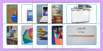 School Objects Photo Pack Urdu Translation - urdu, school objects, photo pack, photo, pack