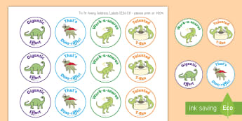 Dinosaur Theme Motivational Stickers - EYLF, Australia, rewards, behaviour management, Early childhood, early years, dinosaurs,Australia