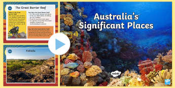 Australian Significant Places PowerPoint-Australia