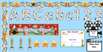 Film Star Reward Display Pack - Film Star Reward Display Pack - film stars, reward, display pack, film star, movie star reward chart