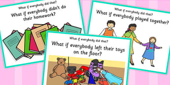 'What if Everyone Did That?' Cards (Set 4) - what if, everyone, did, cards