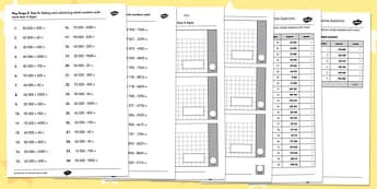 Key Stage 2 Arithmetic Test Year 5 Content Practice Questions