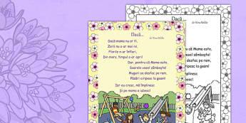 Poezie Daca Mama Nu Ar Fi, Nina Beldie - ziua mamei, 8 martie