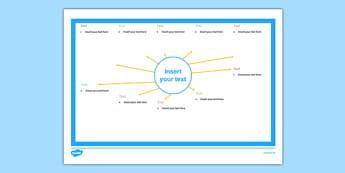 Topic Web Editable Blank - topic web, editable, blank, topic, web