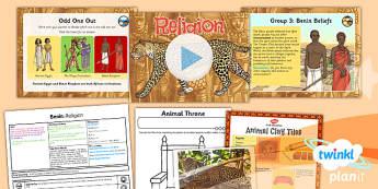 History: Benin: Religion UKS2 Lesson Pack 2