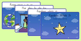 Kapokapo Whetū Iti Sequencing Te Reo Māori - nz, new zealand, twinkle twinkle little star, nursery rhyme, te reo maori, sequencing