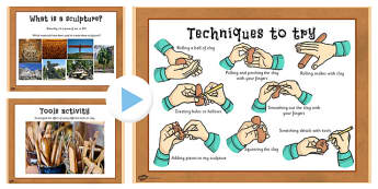 KS2 Art Sculpture PowerPoint - art, sculptures, powerpoints
