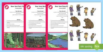 Bear Adventure Sensory Bottle Resource Pack - EYLF, bear hunt, Australia, SEN, play, story books, sensory, preschool, nursery, birth to Twos, Home