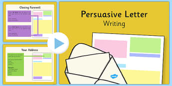 primary resources persuasive writing