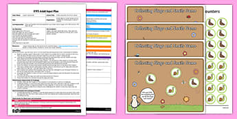 Collecting Snails Fine Motor Game EYFS Adult Input Plan and Resource Pack - EYFS, Early Years planning, adult led, Jasper's Beanstalk, Mick Inkpen, Nick Butterworth, PD, Physical Development
