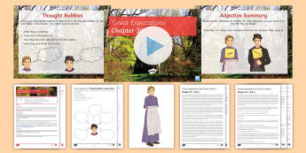 Great Expectations Chapter 35 Lesson Pack - Funeral, Mrs Joe, Joe, Great Expectations, Pip, Biddy.