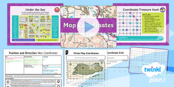 PlanIt Y4 Position and Direction Lesson Pack Coordinates (3) - Y4 Position and Direction, coordinates