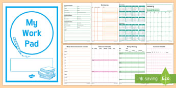 2017 Teacher Work Pad - teacher, daily, work pad, teaching, organisation, planning, Australia