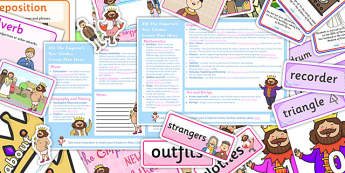 Emperors New Clothes KS1 Lesson Plan Ideas and Resource Pack