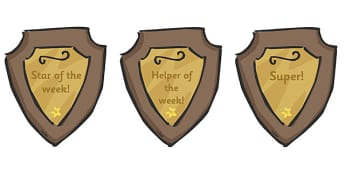 Classroom Award Plaques - Plaque, medal, award, reward, rewards, school reward, medal, good behaviour, award, good listener, good writing, good reading
