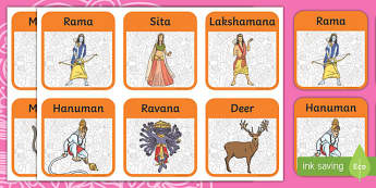 Diwali Story Role Play Badges