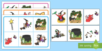 Matching Mat Activity to Support Teaching on Room on the Broom - room on the broom, matching mat, matching, SEN, SEN mat, matching activity, matching games, SEN activities