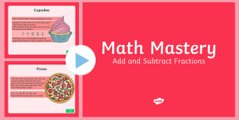Adding and Subtracting Fractions PowerPoint