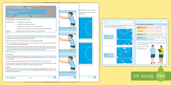 Netball Lesson 6: Centre Passes  - Invasion Game, Team Game, Technique Card, Teaching Ideas, Winter Sport