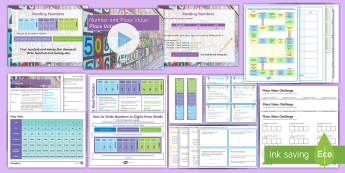 KS3 Half Term 1: Number and Place Value - Lesson 1 (Place Value) Lesson Pack - mastery, Problem Solving, Challenge, Scheme of work, Year 7