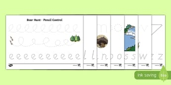 Pencil Control Activity Sheet Pack, worksheet