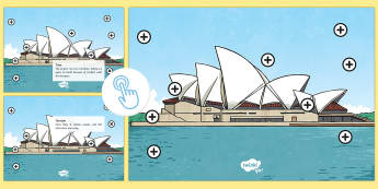 Sydney Opera House Picture Hotspots - Australia YR 3 and 4 Design Technology, design technology, sydney, architecture, design professions,