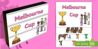 Melbourne Cup Light Box Inserts - festivals and celebrations, melbourne cup, light box inserts, sporting events