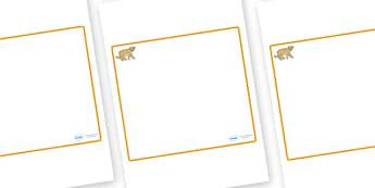 Puma Themed Editable Classroom Area Display Sign - Themed Classroom Area Signs, KS1, Banner, Foundation Stage Area Signs, Classroom labels, Area labels, Area Signs, Classroom Areas, Poster, Display, Areas