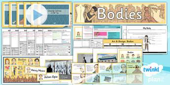 Art: Bodies LKS2 Unit Pack