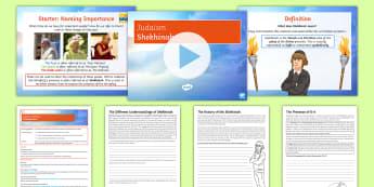 Judaism: Shekhinah Lesson Pack - Judaism, KS4, Almighty, God, Presence, GCSE