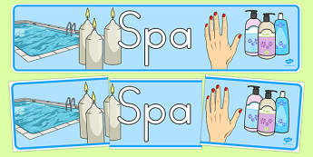The Spa Role Play Banner - usa, america, spa, role play, the spa, health and wellbeing, banner