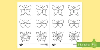 Bullet Journal Butterfly Decals - Bullet Journal, bujo, diary, journal, borders, colouring, doodles, cover up