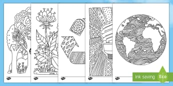 Earth Hour Colouring Pages-Australia - Earth Hour, mindfulness, nature, environment,Australia, colouring, mindfulness, colour, earth, plane