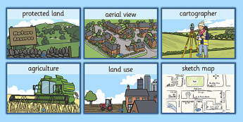 Land Use Display Posters - land use, display poster, display