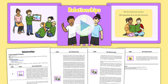SEAL Relationship Assembly Pack - pshe, psche, social, emotional, learning, assembly, presentation, whole, school, class, year, group, explain, objective, role, play, fairness, fair