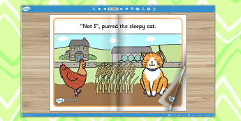The Little Red Hen eBook - interactive books, traditional tales