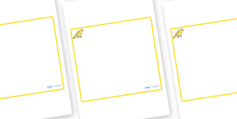 Canary Themed Editable Classroom Area Display Sign - Themed Classroom Area Signs, KS1, Banner, Foundation Stage Area Signs, Classroom labels, Area labels, Area Signs, Classroom Areas, Poster, Display, Areas