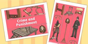 Crime and Punishment Display Borders - display, borders, history
