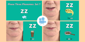 Phase Three Phonemes: Set 7: 'zz' Video - Phonics, Letters and Sounds, Grapheme, pronunciation, qu,y,z,zz