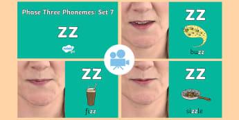 Phase 3 Phonemes : Set 7 'zz' Video - Phonics, Letters and Sounds, Grapheme, pronunciation, qu,y,z,zz, Twinkl Go, twinkl go, TwinklGo, twinklgo