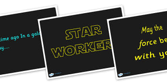 Star Wars Quote Display Posters - display, posters, star wars, films, tv, star wars quotes, quotes, quotes display posters, star wars display posters, star wars posters, starwars, A4 posters, poster, classroom display posters