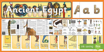 The Ancient Egyptians Resource Pack - History Club, Ancient Egyptians, World History, Ideas, Support, Elderly Care, Care Homes, Activity C