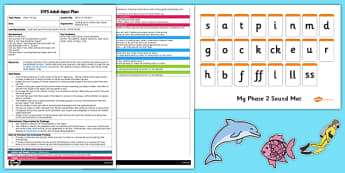 Under the Sea What's in the Box EYFS Adult Input Plan and Resource Pack
