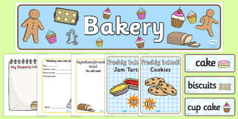 Bakery Role Play Pack - Role Play Pack - Bakery Role Play Pack, baker, oven, bread, great fire of london, buns, customer, role play, display, poster, role play, Display signs, display, labels, pack