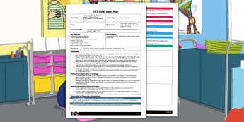 EYFS Keys Listening Game Adult Input Plan - EYFS, Early Years planning, adult led, Letters and Sounds, phonics, Phase 1, aspect 1.